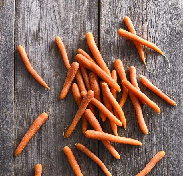 Snack gulerødder, pr. pose