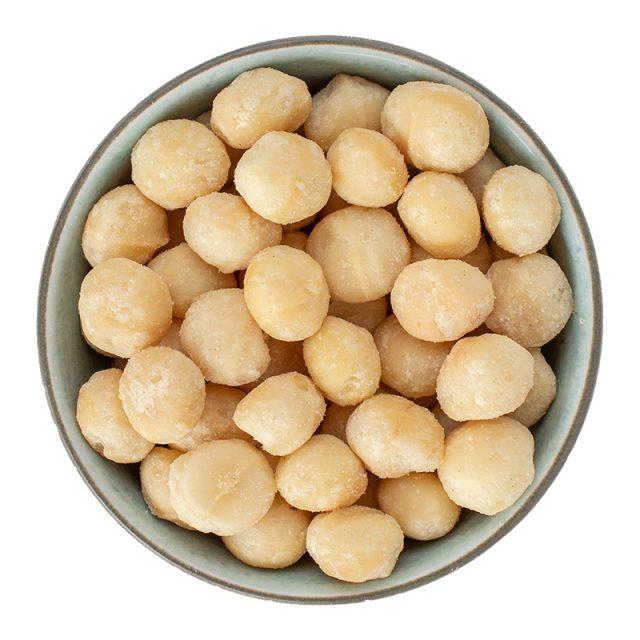 Vangsgaard macadamianødder, saltede, 100g